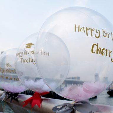 生日禮物— 水晶氣球